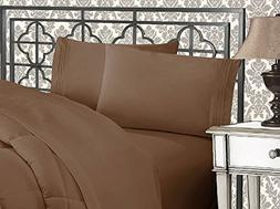 Elegant Comfort 3-Piece 1500 Thread Count Egyptian Quality B