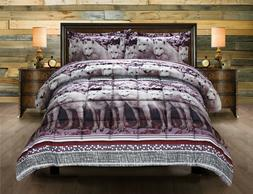 2 piece 3d comforters twin box stitched