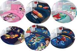 3/4PC BED COMFORTER SET DISNEY MOVIE CARTOONS COLLECTION FOR