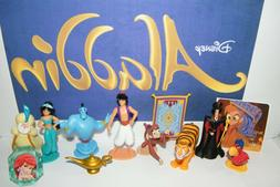 Disney Aladdin Movie Party Favors Set of 12 with 10 Figures,