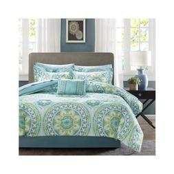 Bedroom Comforter Set 9Pc Bed In A Bag With Sheets Guest Sui