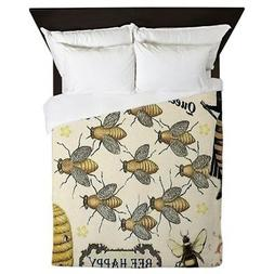 CafePress - Bees - Queen Duvet Cover, Printed Comforter Cove
