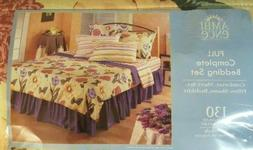 Ambience Botanica Full Size Complete Bedding Set Yellow Flor