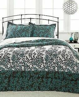 Sanders Central Park Leaf Tree Reversible TWIN 2-Piece Comfo