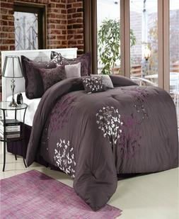CHIC HOME CHIELA OVERSIZED AND OVERFILLED 8 PCS COMFORTER SE