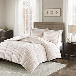 Madison Park Duke Full/Queen Size Bed Comforter Set - Champa