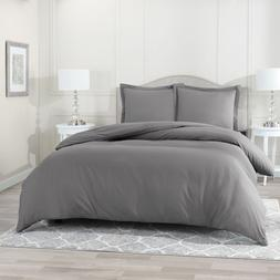Egyptian Comfort 3 PC Duvet Cover Set 1800 Count Ultra Soft