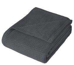 Elite Home Products Grand Hotel Cotton F/Q Blanket