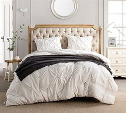 Byourbed Jet Stream Pin Tuck King Comforter