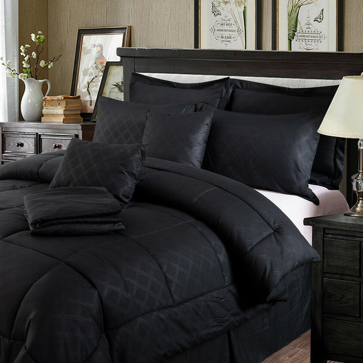 10-Piece Comforter Bedding Bed Sheets King/Cal SALE!!