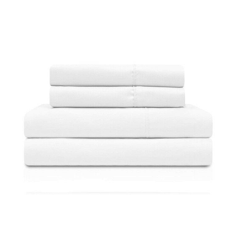 3-pc XL White Superior from Bamboo Sheet Set