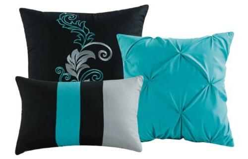 Chezmoi Collection 7-piece Leaves Comforter
