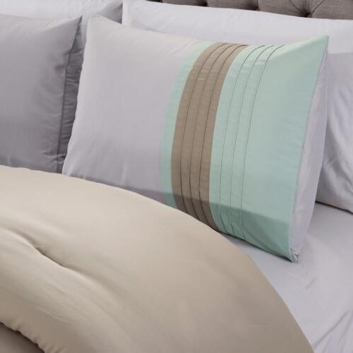 Chezmoi Collection Leaves Comforter