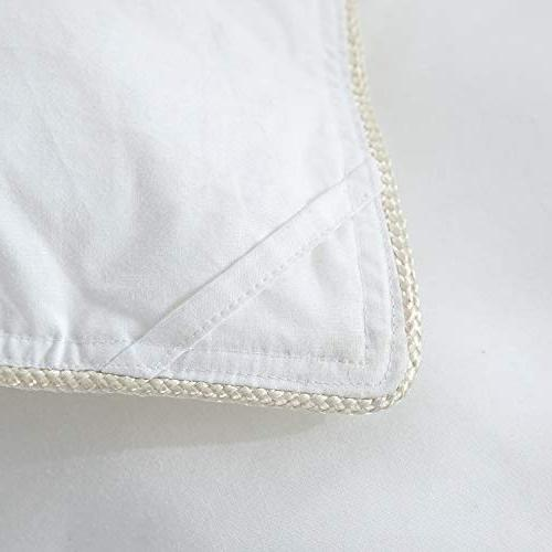 LUXURIOUS GOOSE DOWN Comforter, 600 Thread Count 100% Egyptian Cotton Cover, Color, 750 60 All
