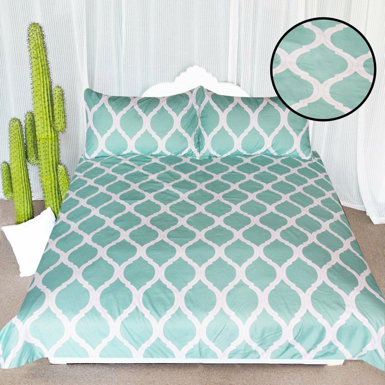 arightex spa blue printed comforter cover stylish
