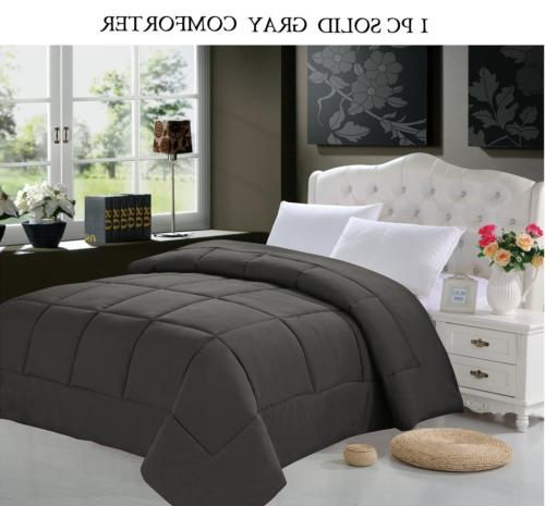 Elegant Comfort Down Alternative Silky Soft Double Fill Comf