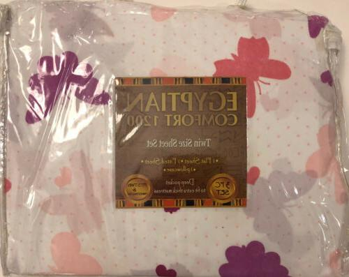 egyptian comfort 1200 count 3 piece twin