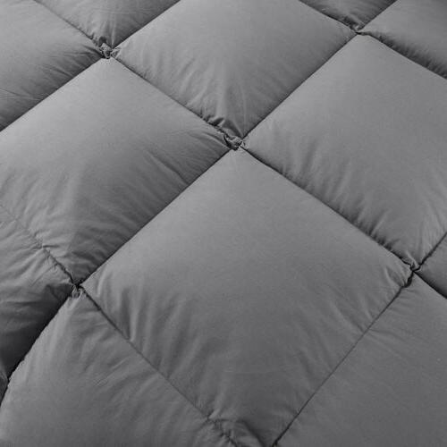 Luxury Supersoft Goose Alternative Comforter King 11
