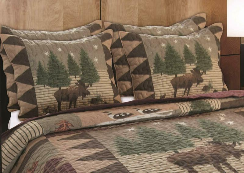 Greenland Home Moose Quilt