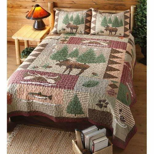 Greenland Lodge Quilt King