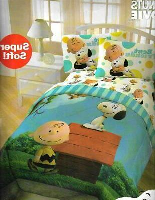 movie charlie brown and snoopy twin 3pc