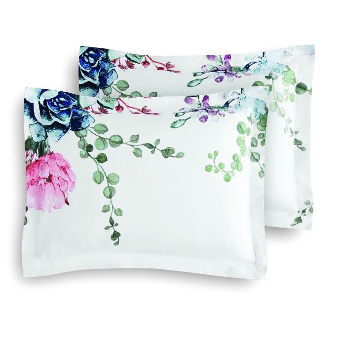 New 10 Piece Floral Queen Comforter Set Bed a Bag Sheets