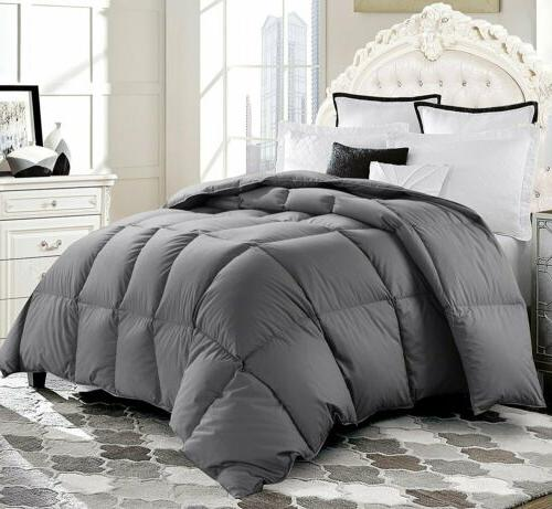 luxury supersoft goose down alternative comforter twin
