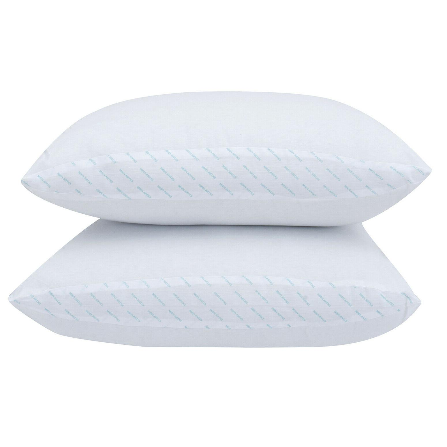 Standard Size Support Pillow Neck White