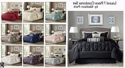 Madison Park Laurel 7 Piece Comforter Set  in 10 Colors and