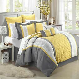 livingston yellow comforter bed in a bag