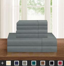 Elegant Comfort Luxurious Soft 1500 Thread Count Egyptian 4-