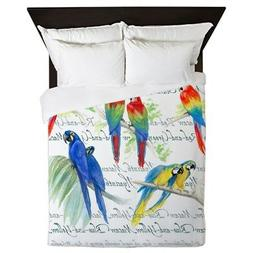 CafePress - Macaws - Queen Duvet Cover, Printed Comforter Co