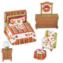 Mini Fall Bedroom Set Tabletop Decoration, by Collections Et