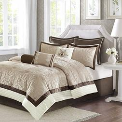 Madison Park MP10-2829 Juliana 9 Piece Charmeuse Comforter S