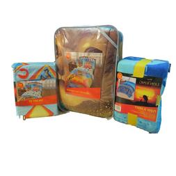 """NEW Disney Lion King """"Long Live the King"""" 4PC Twin Comforter"""