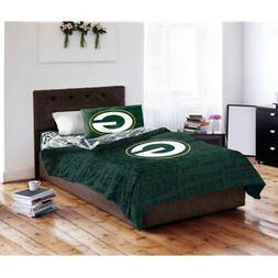 NFL Green Bay Packers Comforter Queen Set Sports Patterned B
