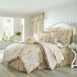 Piper & Wright Anna 100% Cotton Floral 4 Piece Reversible Co